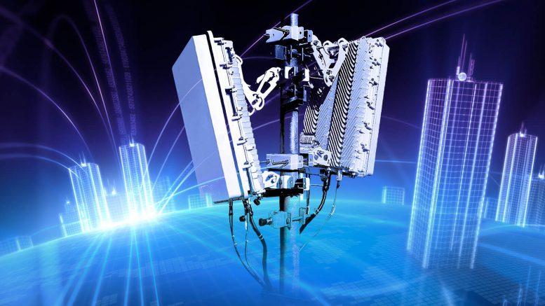 Передача электропитания на базовую станцию сотовой связи с помощью лазерного луча